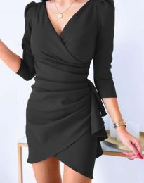 Šaty - kód 32897 - černá