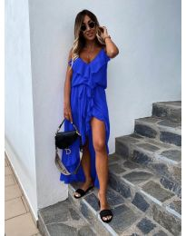 Šaty - kód 0081 - modrá