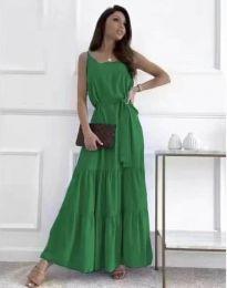Šaty - kód 2578 - zelená
