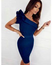 Šaty - kód 2049 - 4 - modrá