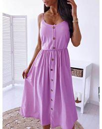 Šaty - kód 5057 - fialová