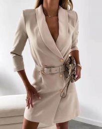 Šaty - kód 9257 - bežová