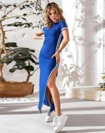 Šaty - kód 0715 - 1 - modrá