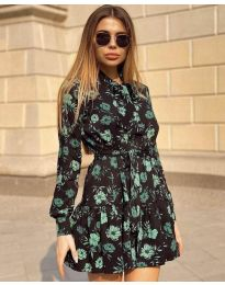 Šaty - kód 6555 - 3 - vícebarevné