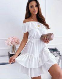 Šaty - kód 6777 - bílá