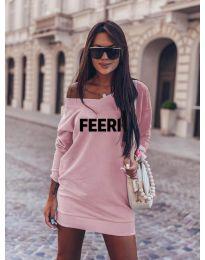 Šaty - kód 6368 - růžová