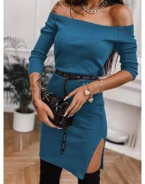 Šaty - kód 4720 - tyrkysový