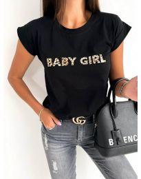 Tričko - kód 983 - černá
