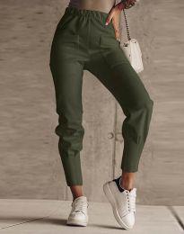 Kalhoty - kód 2252 - olivově zelená