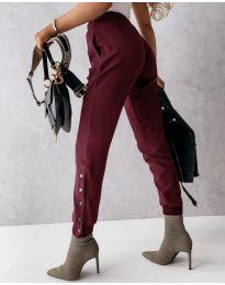 Kalhoty - kód 3987 - bordeaux