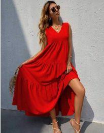 Šaty - kód 8149 - červená