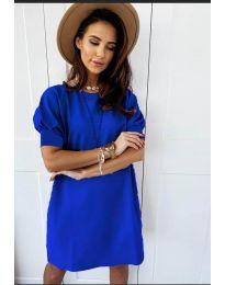 Šaty - kód 9868 - modrý