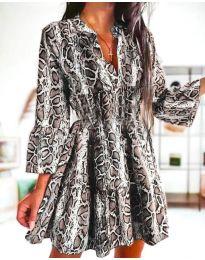 Šaty - kód 4250 - vícebarevné