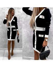 Šaty - kód 7574 - černá