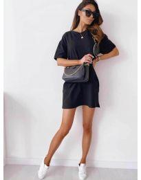 Šaty - kód 7236 - černá