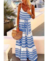 Šaty - kód 621 - modrý