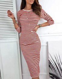 Šaty - kód 4081 - červená