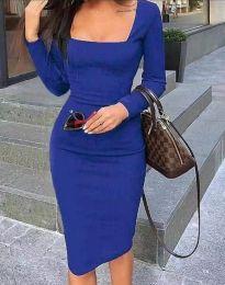 Šaty - kód 4521 - tmavě modrá