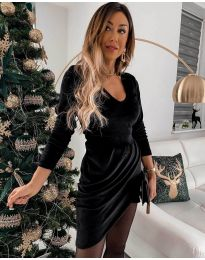 Šaty - kód 2129 - černá