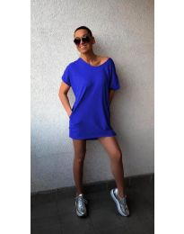 Šaty - kód 3080 - tmavě modrá