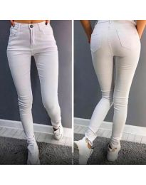 Kalhoty - kód 2823 - 1 - bílá