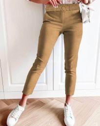 Kalhoty - kód 5043 - 1 - cappuccino