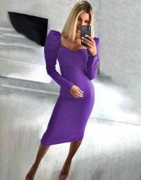 Šaty - kód 3865 - fialová