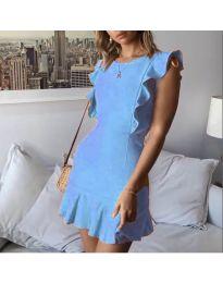 Šaty - kód 548 - modrý