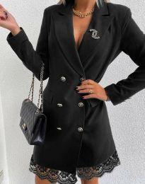 Šaty - kód 6955 - černá