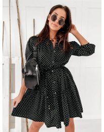 Šaty - kód 5557 - černá