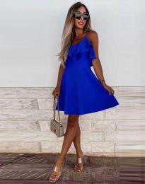Šaty - kód 2739 - modrá