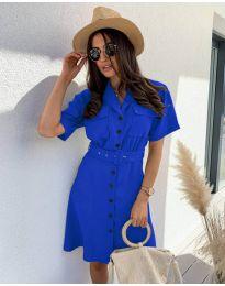 Šaty - kód 742 - modrá