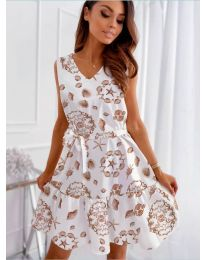 Šaty - kód 346 - bíla
