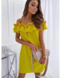 Šaty - kód 133 - žlutá