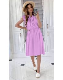 Šaty - kód 701 - světle fialová
