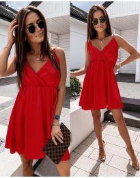 Šaty - kód 1000 - červená