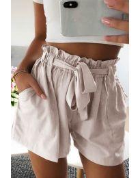 Krátké kalhoty - kód 3637 - bežová