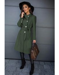 Kabát - kód 396 - olivová  zelená