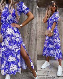 Šaty - kód 6212 - modrá