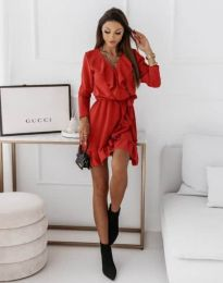 Šaty - kód 0578 - 2 - červená