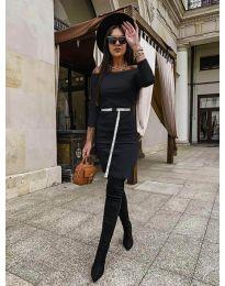 Šaty - kód 5190 - černá