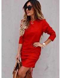 Šaty - kód 8293 - červená