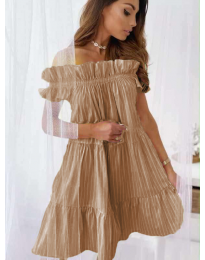 Šaty - kód 0299 - hněda