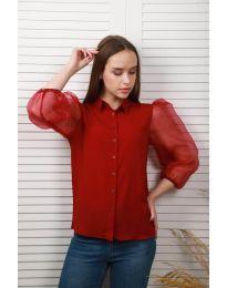 Košile - kód 0633 - 1 - bordeaux