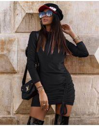 Šaty - kód 9545 - černá