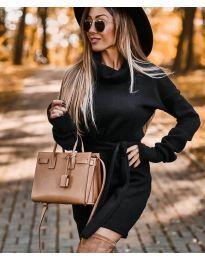 Šaty - kód 8400 - černá