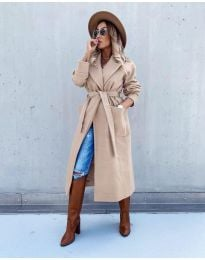 Kabát - kód 5877 - bežová