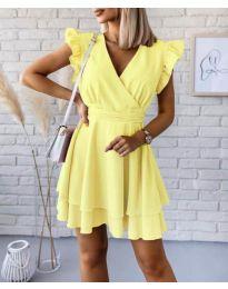 Šaty - kód 409 - žlutá