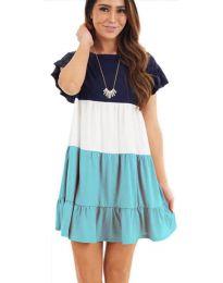 Šaty - kód 741 - tyrkysový
