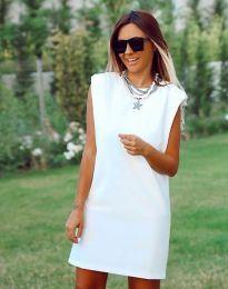 Šaty - kód 5786 - 1 - bílá